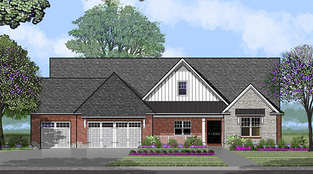 St. Jude Dream Home Giveaway Peoria House Rendering