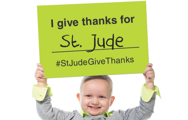 I give thanks for St. Jude